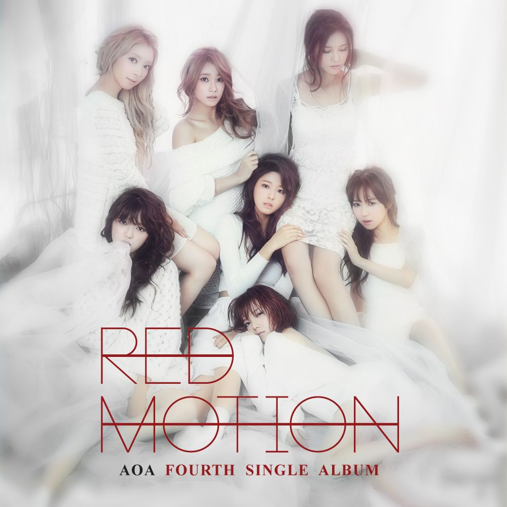 [Single] AOA - Red Motion [4th Single] (MP3 + iTunes Plus AAC M4A)