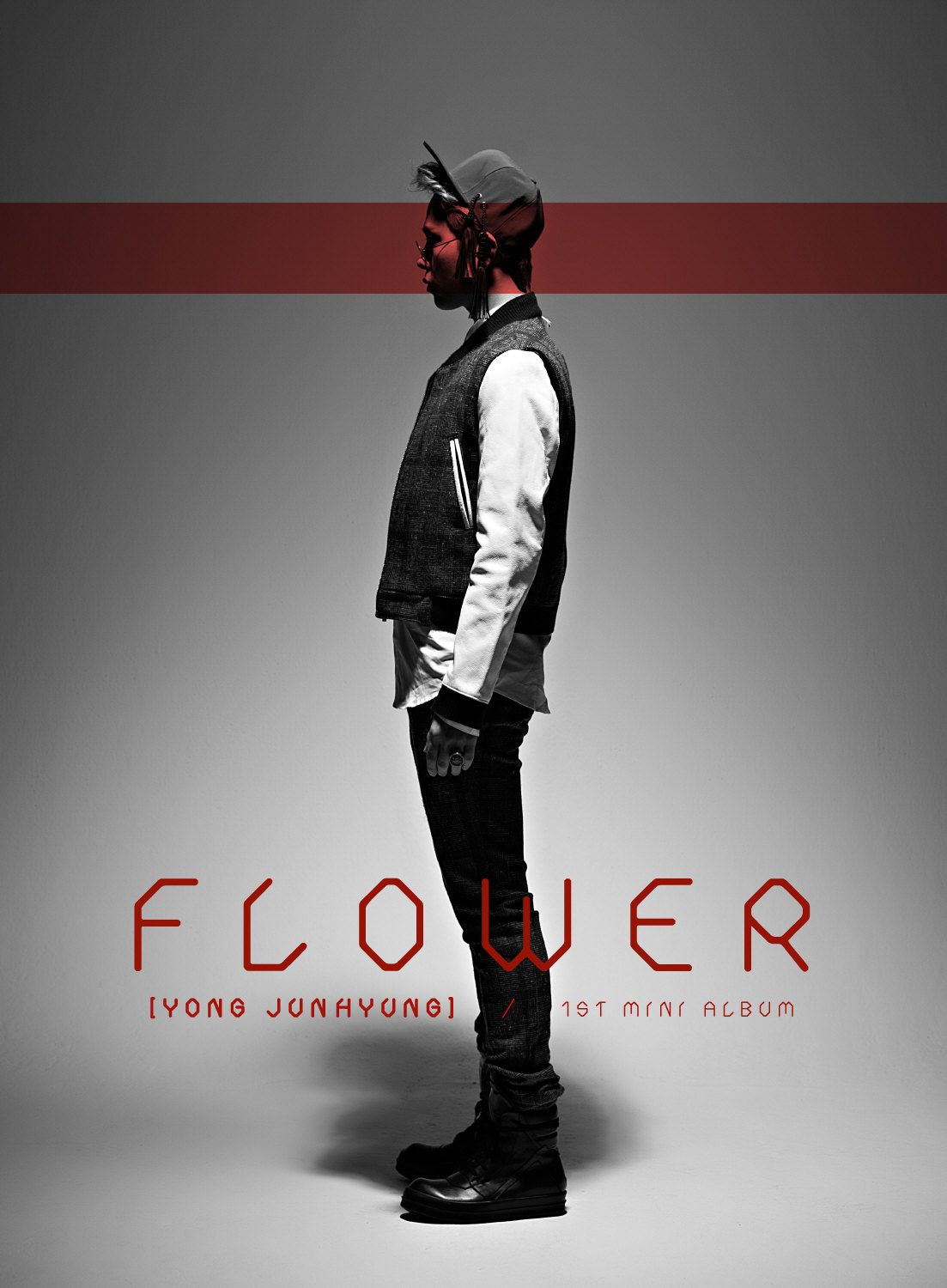 [Mini Album] Yong Jun Hyung - Flower [1st Mini Album]