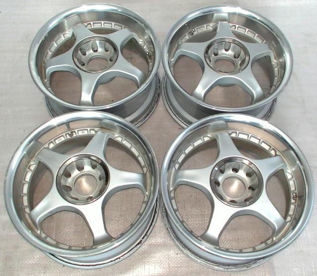 KOSEI 15 7J 4x100 4x114,3 Rims Alloy Wheels Civic MX5 Roadstar M