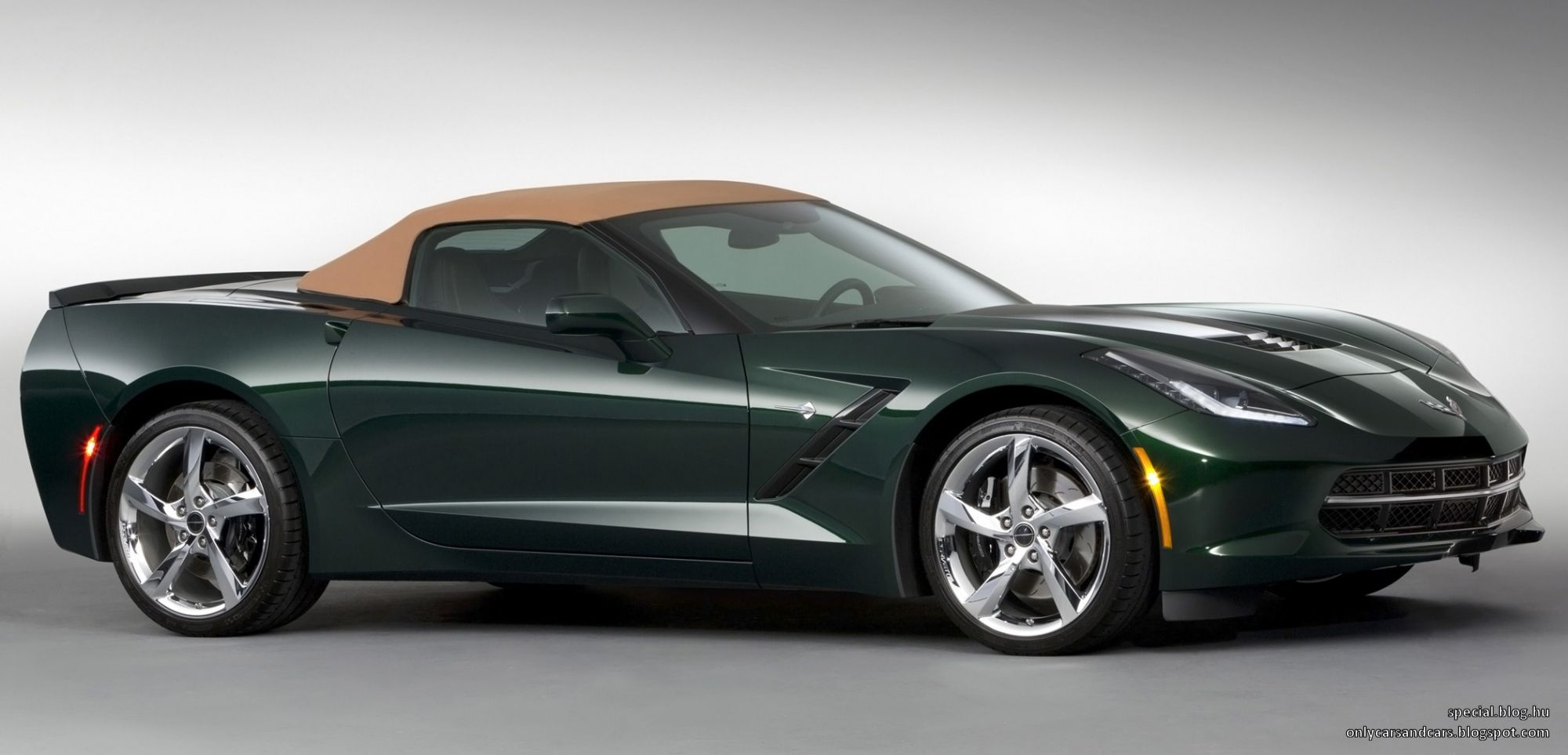 You have read this article chevrolet convertible corvette green limited limited edition premiere edition stingray v8 with the title