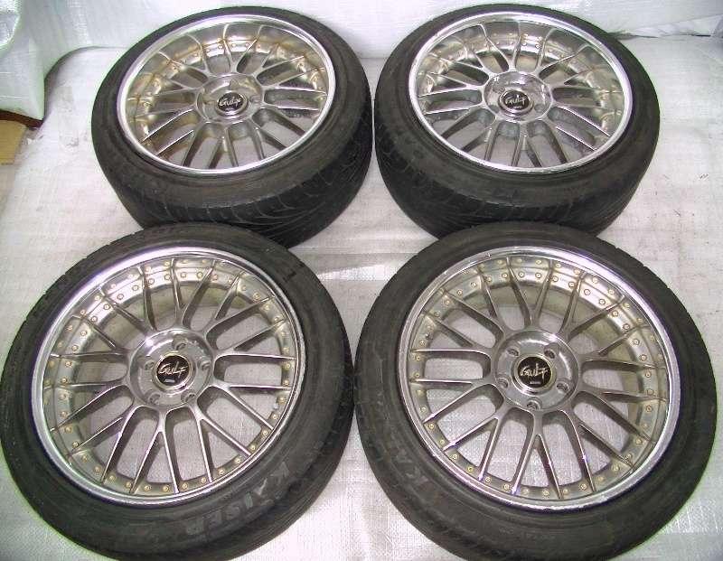 STICH GULF wheels alloy rims 18 8.5J 9.5J 5x114 S14 R33 R34 RX7