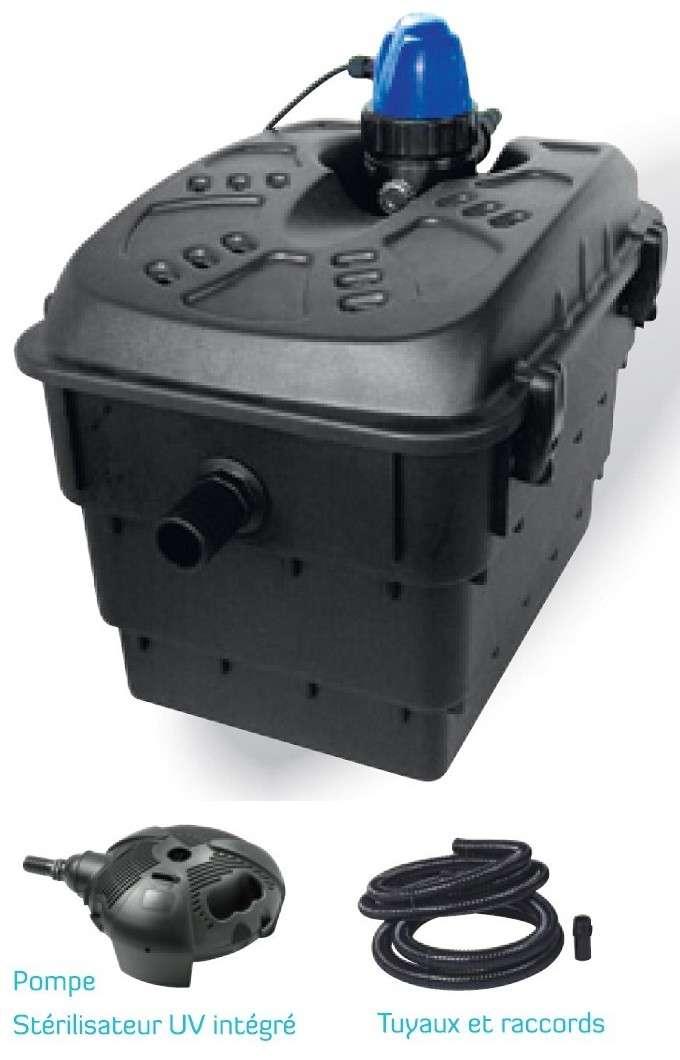 Kit filtre silverset 4500 pompe pour bassin plan d 39 eau for Filtre pour pompe a eau