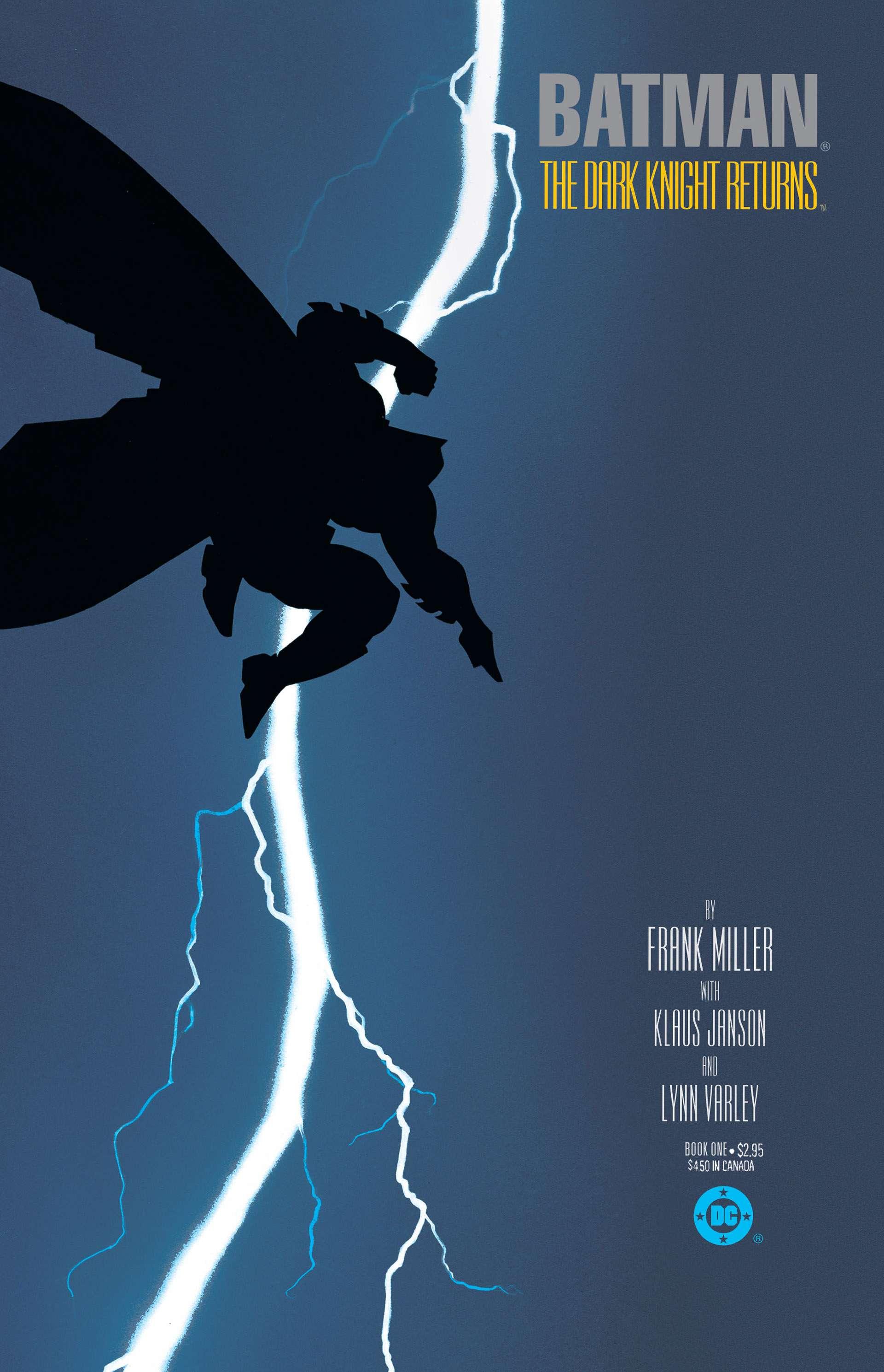 Batman: The Dark Knight Returns #1-4 (1986) (2011 Edition) Complete