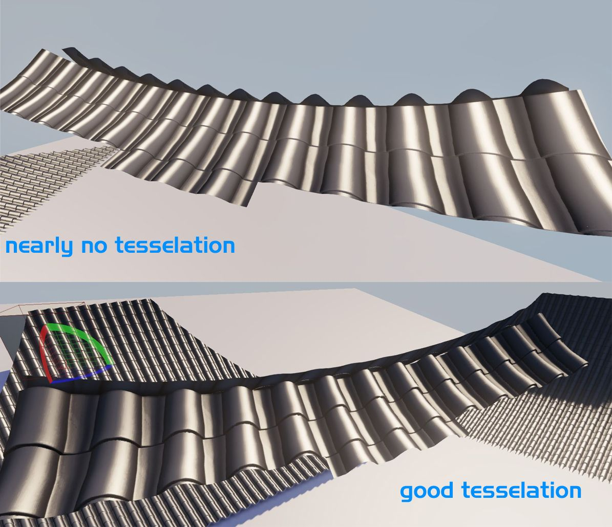 Udk Tessellated Roof Troubles Polycount