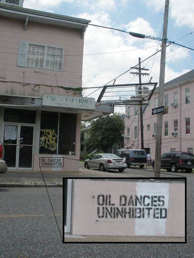 Oil Dances Unihibited